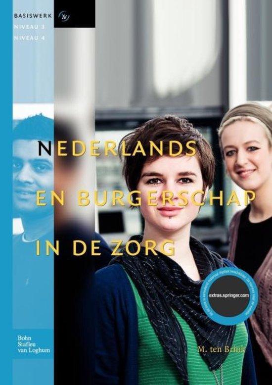 Basiswerk V&V - Nederlands en burgerschap in de zorg - M Ten Brink   Fthsonline.com
