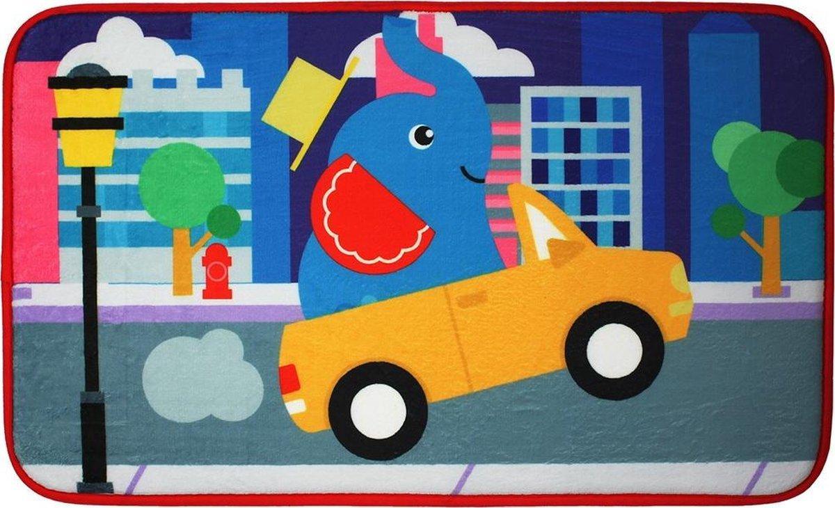 Fisher Price Olifant speelkleed tapijtje baby - super zacht materiaal - 45 x 75 cm groot