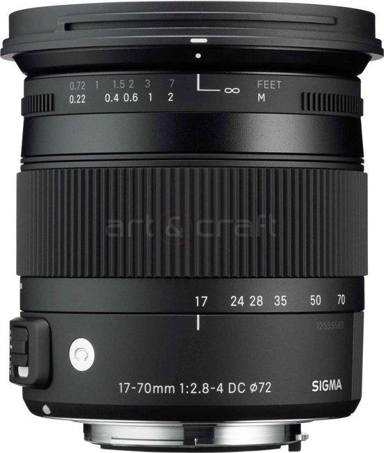 Sigma 17-70mm F/2.8-4.0 DC Macro HSM CONTEMPORARY