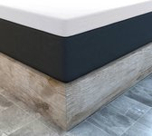 Topper Hoeslaken Jersey Wit Waterbed/Boxspring - 200 x 220/230 cm