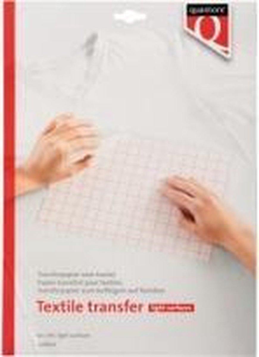 Transferpapier voor textiel - lichte kleding - 6 vellen