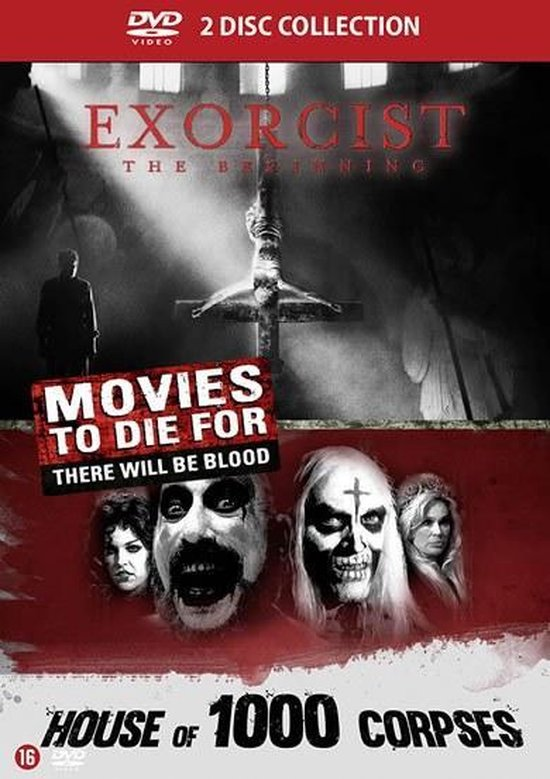 Cover van de film 'Excorcist Beginning/House Of 1000 Corpses'