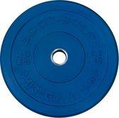 Body-Solid Chicago Extreme Gekleurde Olympische Bumper Plates OBPXCK - 20 kg Blauw