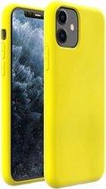 ShieldCase Silicone case iPhone 11 (geel)