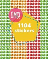 Beloningsstickers Smiley   1104 STICKERS   TOPKWALITEIT   groen, oranje, rood   schools beoordeling   smiley stoplicht stickers   stickers om te belonen