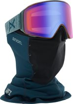 Anon M4 Cylindrical goggle layback / sonar blue (met extra lens en MFI mask)