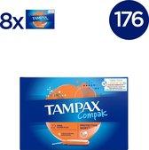 Tampax Compak Super Plus - 176 Stuks - Tampons Inbrenghuls