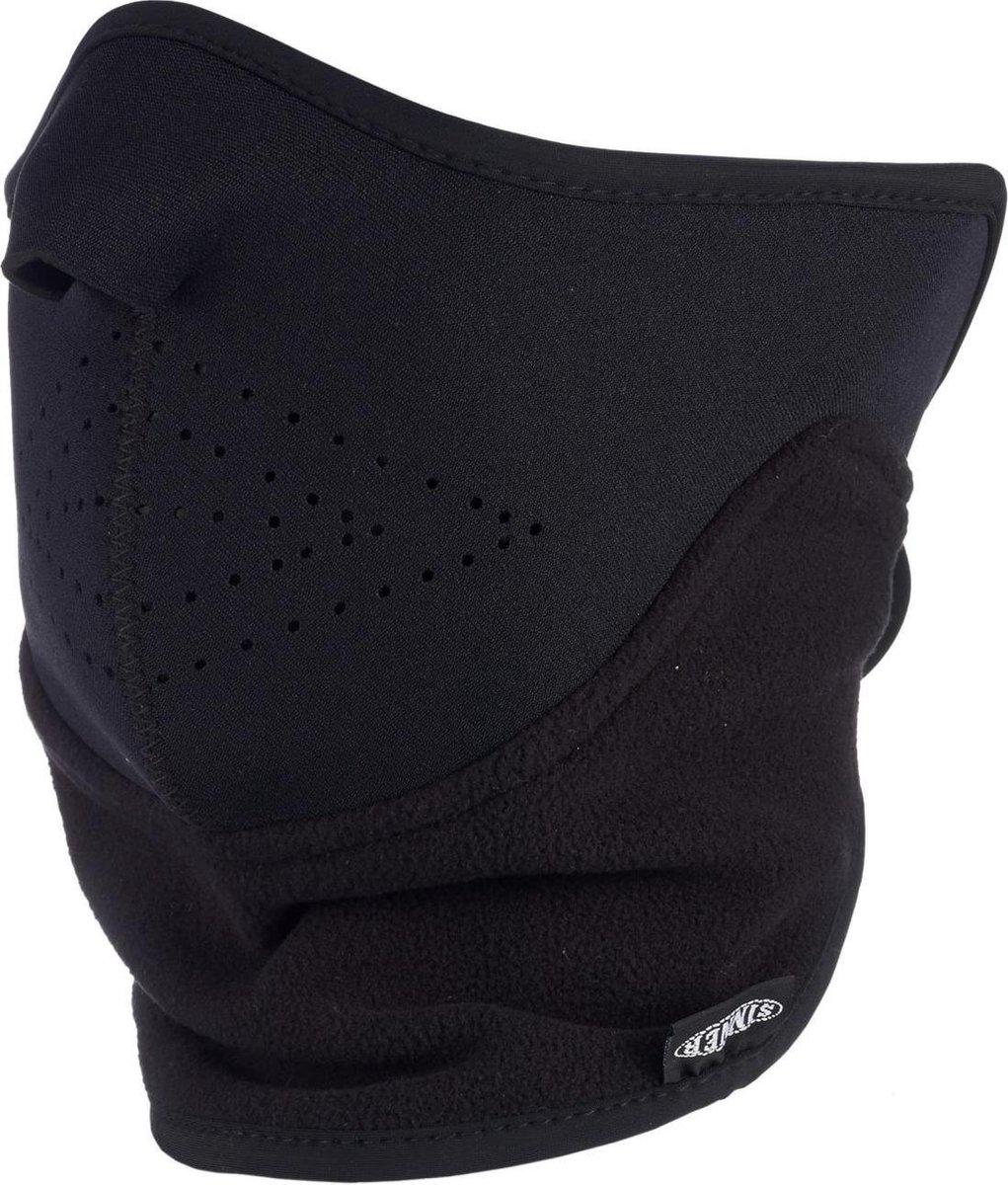 Sinner Unisex Facemask - Zwart - One Size
