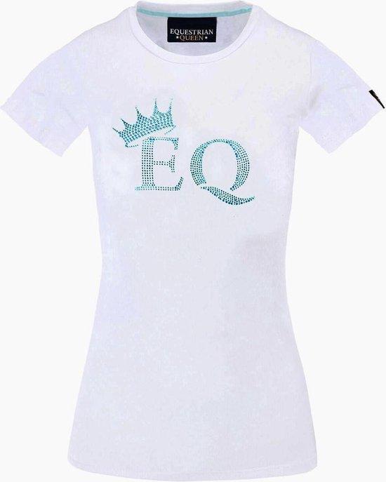 EQUESTRIAN QUEEN Shirt Zoe M wit