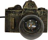 Camera Lamp-15x11cm-Polyresin-Goud-Housevitamin