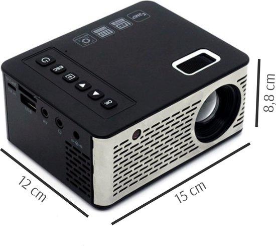 Pocket beamer - Pocket projector - Mini projector - Draagbare mini beamer - Videoprojector - Overheadprojector