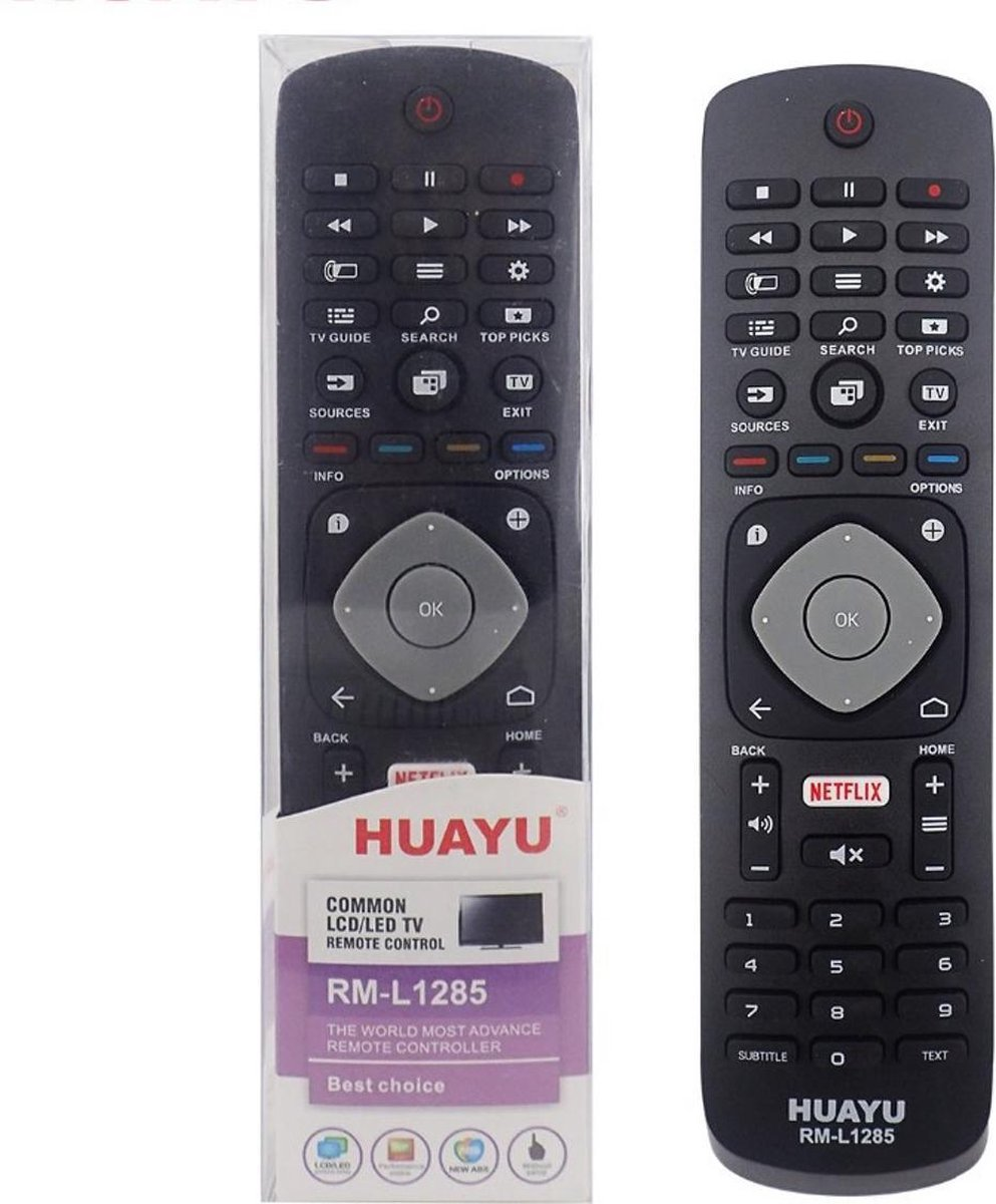 HUAYU RM-L1285 ΓΙΑ PHILIPS ΜΕ ΚΟΥΜΠΙ NETFLIX