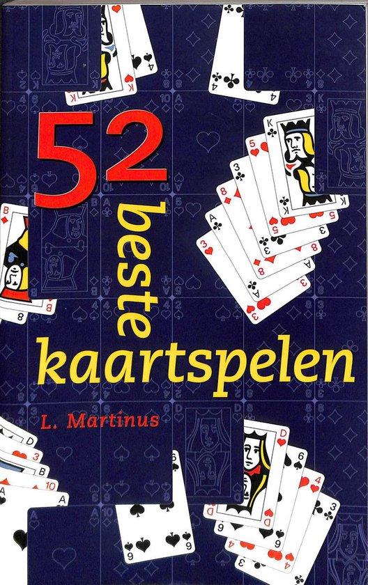 Cover van het boek '52 beste kaartspelen'