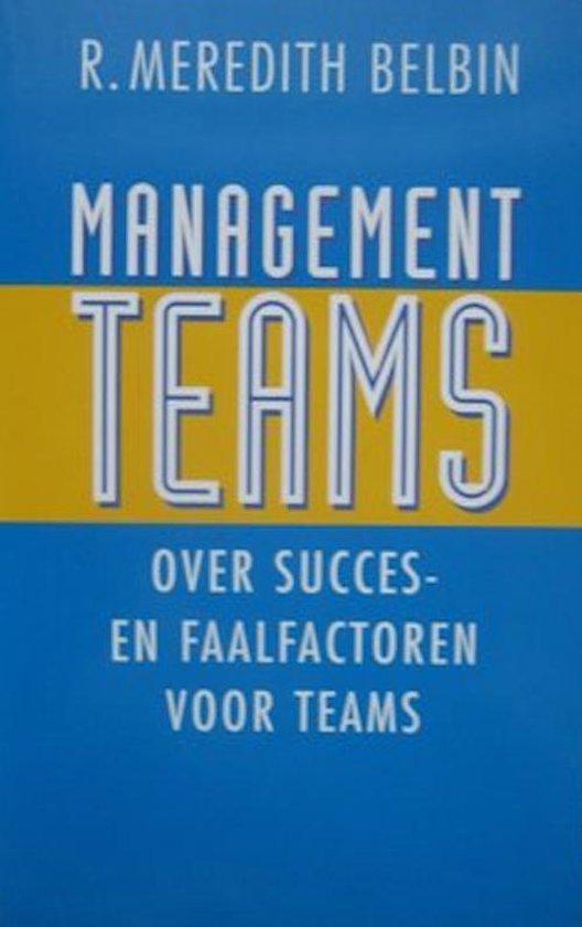 Managementteams - R. Meredith Belbin  