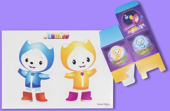 Afbeelding van het spel Lumies Speendoosje & Glow-in-the-dark sticker