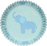 FunCakes Cupcake Vormpjes Muffin Vormpjes Papier Baby Boy pk/48 - Blauw