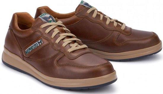 Mephisto LEANDRO Heren Sneaker - Kastanjebruin - Maat 46.5
