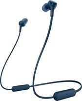 Sony WI-XB400 - Draadloze in-ear oordopjes met nekband - Blauw