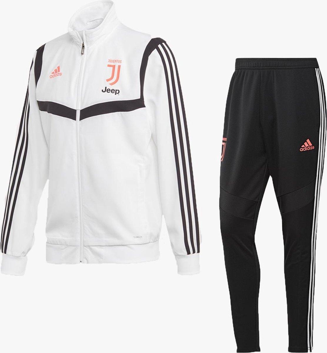 bol com adidas juventus trainingspak presentatie 2019 2020 wit maat xs bol com adidas juventus trainingspak