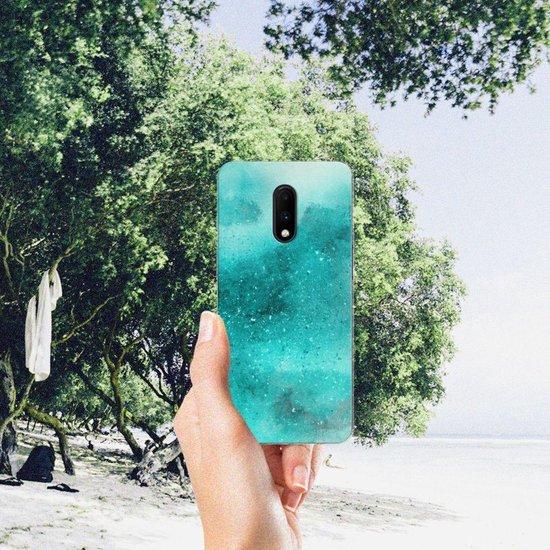 OnePlus 7 Hoesje maken Painting Blue