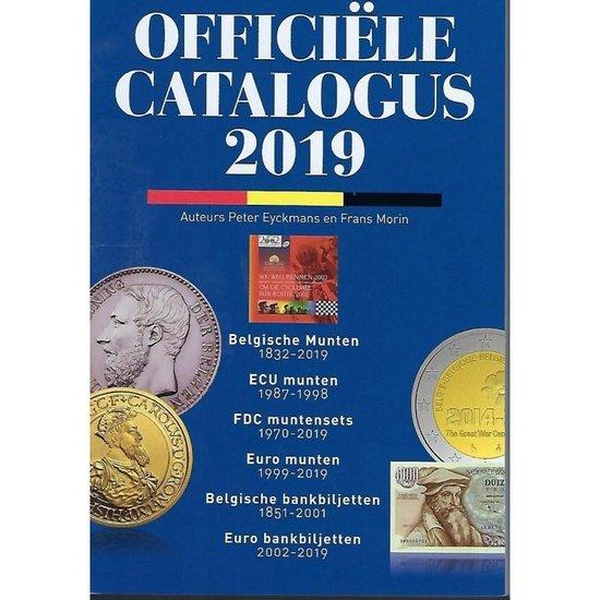 Officiële catalogus der belgische munten en bankbiljetten 1832-2019, morin, uitgave 2019 - Peter Eyckmans | Fthsonline.com