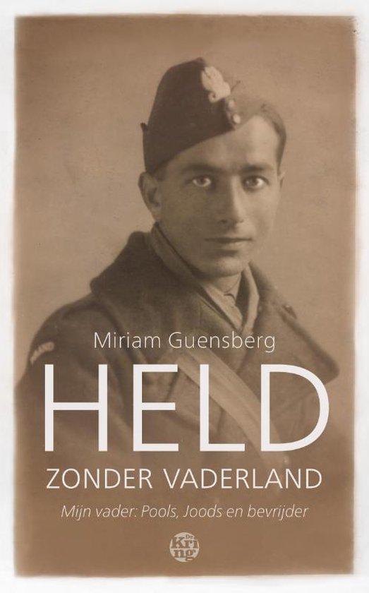 Boek cover Held zonder vaderland van Miriam Guensberg (Paperback)