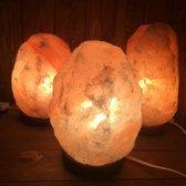 Zoutlamp 2 tot 4 kg - Dieproze A-kwaliteit Himalaya Zout - c.a. 23x13cm