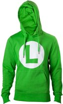 Nintendo - Green Hoodie with L logo in front - 2XL