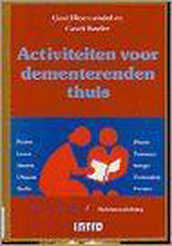 Activiteiten voor dementerenden thuis / druk 1 - B. Bloemendal   Fthsonline.com