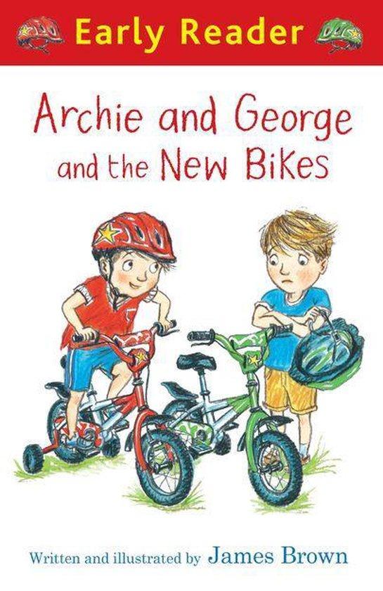 Boek cover Archie and George and the New Bikes van James Brown (Onbekend)