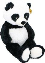 Sunkid Knuffeldier Panda Pluche Junior 100 Cm Zwart/wit