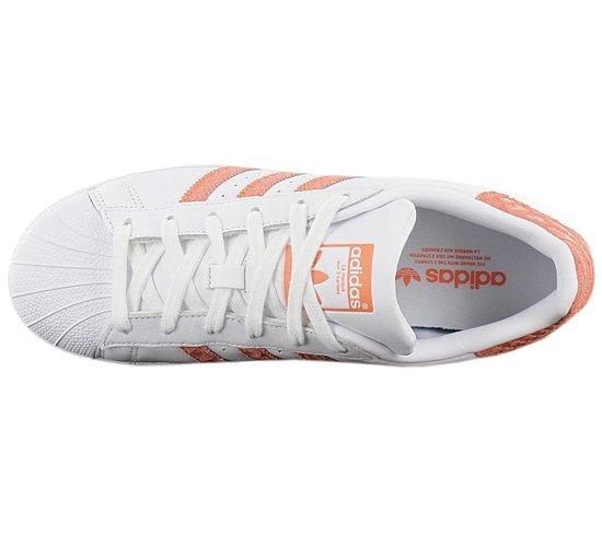 adidas Originals Superstar W CG5462 Dames Sneaker Sportschoenen Schoenen  Wit - Maat EU 36 2/3 UK 4