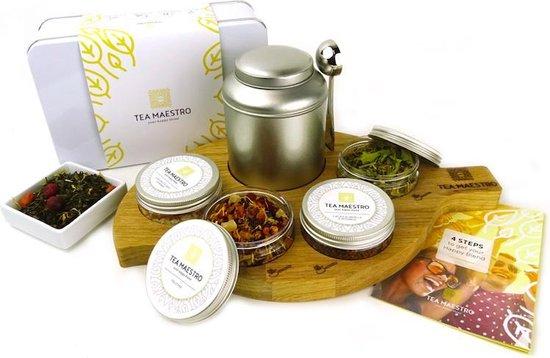 Dutch Tea Maestro - Thee cadeau - Zelf thee blenden pakket voor thuis - HAPPY Premium Thee Pakket - losse thee