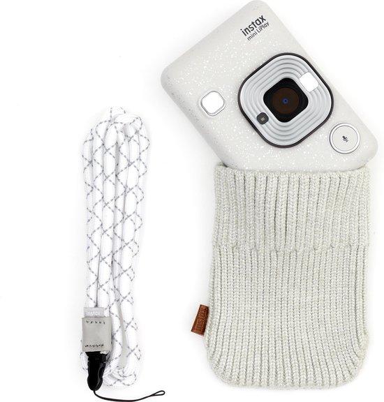 Fujifilm Instax Mini Liplay - Stone White Bundle