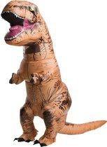 Opblaasbaar T-rex Dinosaurus kostuum - Dinosaurus pak - Dinopak volwassenen - Carnaval