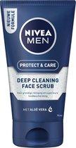NIVEA MEN Protect & Care Face Scrub Reinigingsscrub - 75 ml