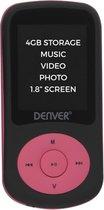 Denver MPG-4094NR - MP4 speler met kleurenscherm -