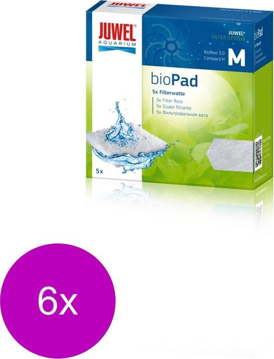 Juwel Biopad M Compact - Filtermateriaal - 6 x 9.9x9.9x1 cm Compact
