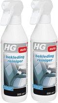 HG Bekledingreiniger - 500 ml - 2 Stuks !