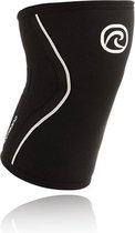 Rehband Knee Sleeve RX Black 7 mm-Maat S: 33 - 35 cm