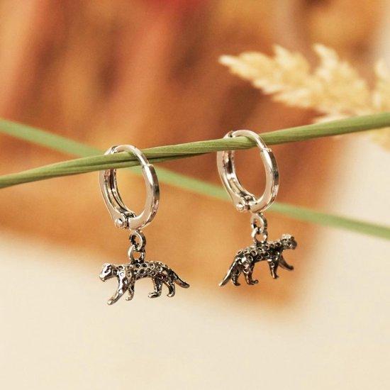 Luipaard oorbellen, de trend van dit moment - Precious Jewel