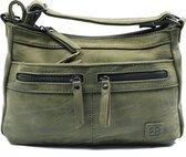 Bicky Bernard schoudertas - ideaal tassen van Bicky Bernard WDL029 olive