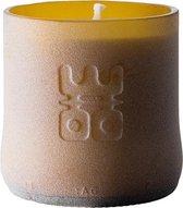 WOO Lucky Candle - Geurkaars - Mat Bruin - S   Geur: Tranquility - 30 branduren   Duurzaam Design