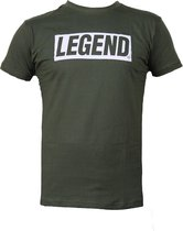 t-shirt army green Legend inspiration quote  XXL