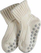 FALKE Catspads Cotton Babysokken - Offwhite - Maat 74-80