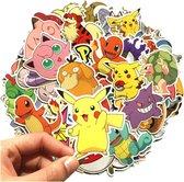 80+ grote Pokémon stickers voor laptop, muur, fiets, badkamer etc. kinderkamer bekend van de pokemon kaarten - nintendo switch - pokemon GO - charizard pikachu base