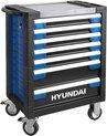 Hyundai gevulde gereedschapskar 305-delig - gereedschapswagen / gereedschapstrolley / verrijdbare werkbank