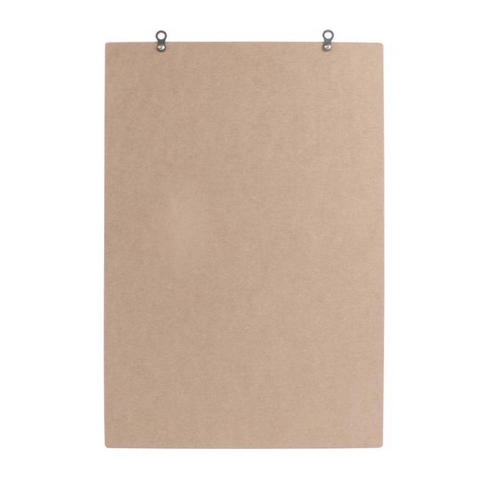 Dresz Letterbord - Retro Letterboard met 267 letters  - Roze - 31 x 46 cm