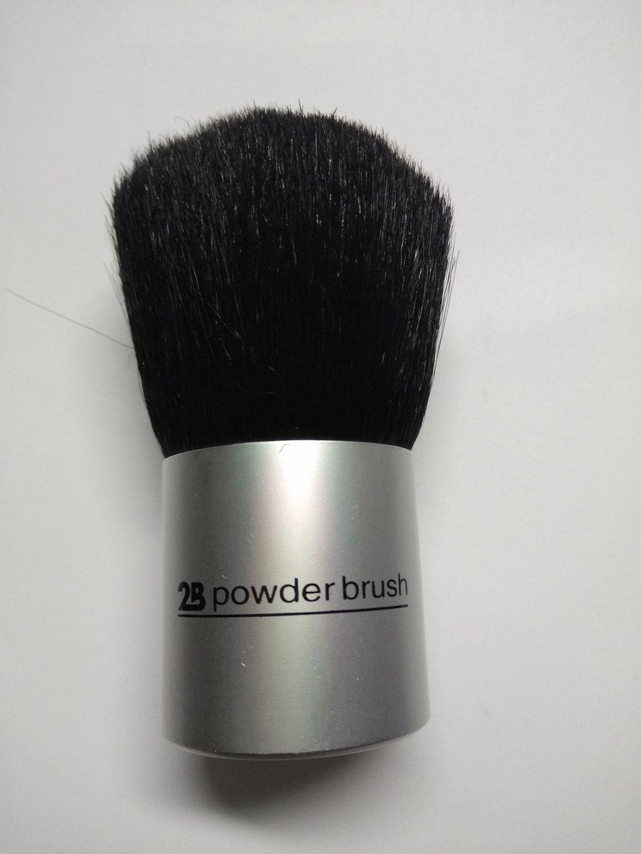 2B-Powder brush small handle - 2B