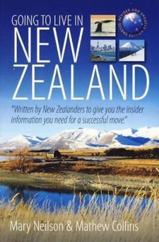Boek cover Going To Live In New Zealand 2e van Mary Neilson (Paperback)